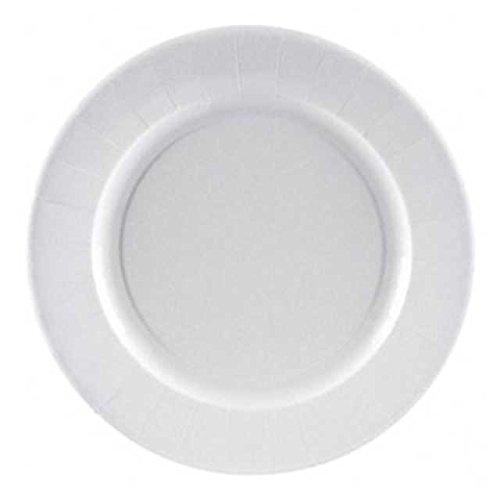 50 Stk. Grillteller Pappteller P29, rund 29 cm, 2 cm tief, fettdicht / Extra tief (2 cm). Auch für feuchte und fetthaltige Lebensmittel geeignet. Mit diesen Tellern gehen Sie auf