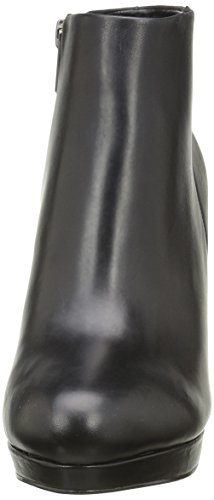 Buffalo London - 410-10645 L SILK LEATHER, Stivali bassi con imbottitura leggera Donna Nero (Black 01)