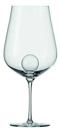 Zwiesel 1872 Air Sense Rotweinglas, Glas, transparent 29 x 31.2 x 13.6 cm, 2-Einheiten