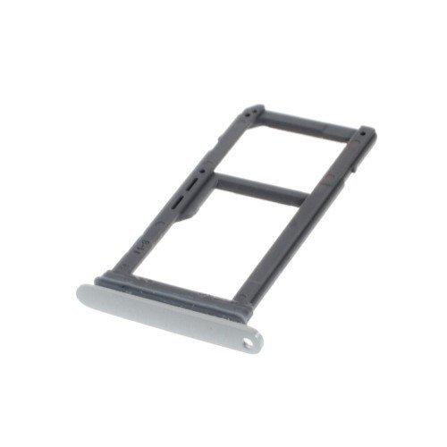 jbTec® Micro SD/SIM Tray passend für Samsung Galaxy S7 Edge/SM-G935 - Slot GSM-Karten-Schlitten/Halter, Farbe:Silber (Micro Halter Sim Karte)
