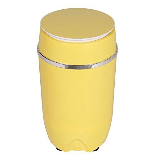 ZGYQGOO Tragbare Waschmaschine Halbautomatische tragbare kompakte Single Barrel Stahl Abflusskorb £ 7,7 Ladekapazität Wohnung, Schlafsaal, Rv Camping