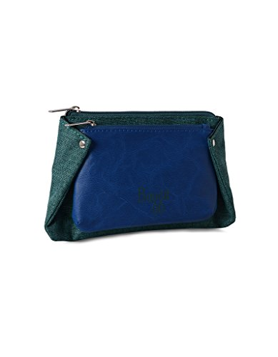 baggit Lmp Midori Lips T Blue/ Green Women's Mobile Pouch (8903414578450)  available at amazon for Rs.466