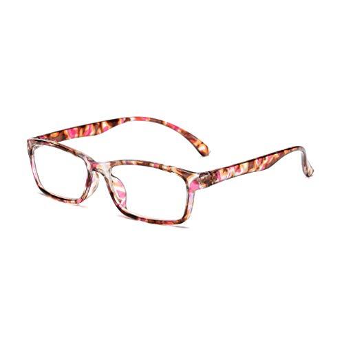 Lifet Schlanke Rechteckige Lesebrille Retro Vintage Brillen Herren Damen Lesebrille Mit Großen Runden Gläsern +4.00 +4.50 +5.00 +5.50 +6.00