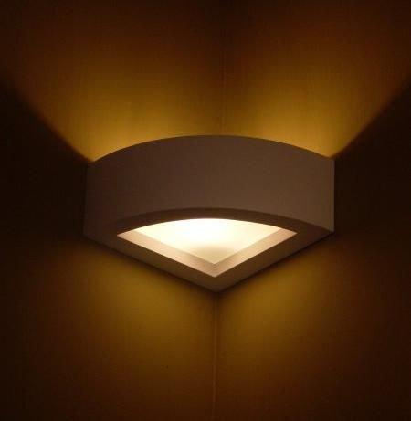 ZUSATZSCHEIBE für die Wandlampen aus der Serie Steffen, Style, Omega und Rechteck (Style Ecklampe 1002)