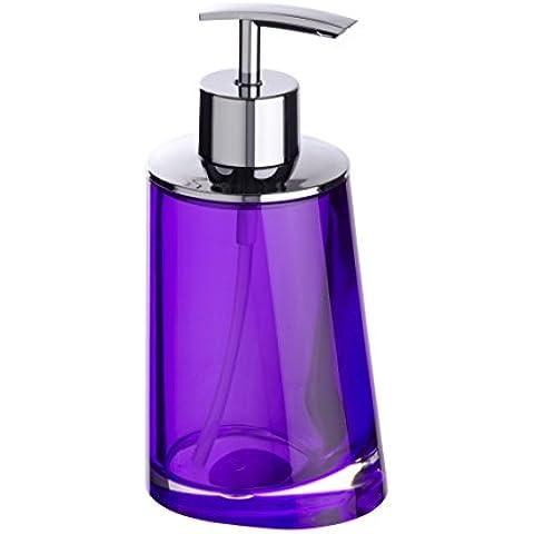 Wenko, Dispenser di sapone liquido Paradise Purple, 200 ml, Viola