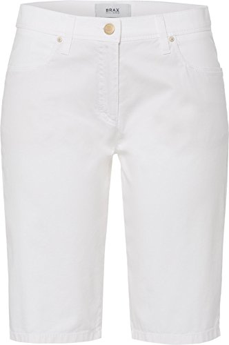 Brax 76-1308, Bermuda Femme Blanc (99)