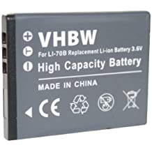 BATERÍA LI-ION compatible con OLYMPUS VG110 VG120 VG130 FE-4020 4040 5040 X940 VG-110 120 130 sustituye Li-70B, Li70B