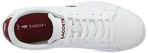 Lacoste Sport Carnaby Evo W Scarpa White - Weiß (Wht/Red 286)