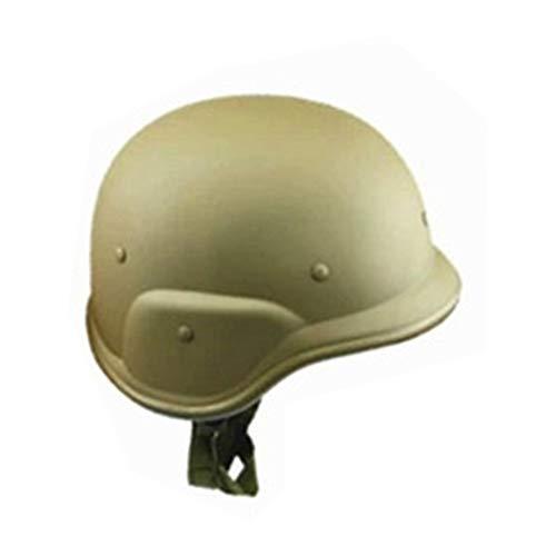 Plastik Helm Helm für Motorrad Radfahren und Armee Kunststoff Camouflage Helm (Schwarz)(Schwarz) - Camouflage, free size (Armee Helm Kunststoff)