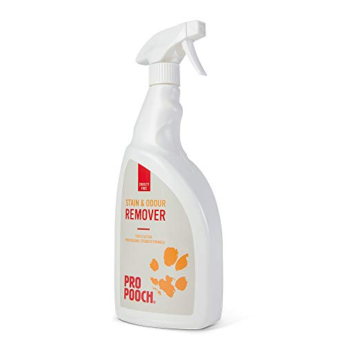 Pet Urine Stain and Odour Remover (1 Litre). Professional Strength Repellent For Dogs and Cats. Neutralise Urine Smell & Faeces