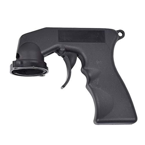 XuBa Tragbarer Sprüh-Adapter, Sprühpistole, Griff mit Vollgriff-Auslöser Schwarz -