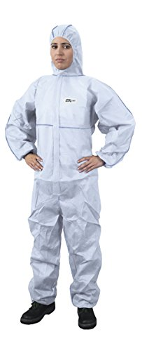 Price comparison product image Multi-Purpose Protective Suit for Working with Chemicals,  Dusk,  Nuclear Particles Anti-Static Protection Overall Category III Type 5 and 6