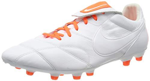 Nike Unisex-Erwachsene The Premier Ii Fg Fußballschuhe, Weiß Hyper Crimson/White 181, 45 EU