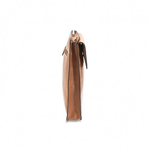 Picard - Serviette en cuir - Toskana, Noir, Noir camel
