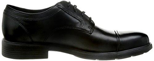Geox U Dublin C, Chaussures de ville homme Noir (Black)