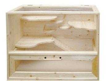 Elmato 10985 Spiel-Kiste, Fichte massiv mit Innenausrichtung