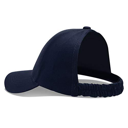 JJJRMP Halber Pferdeschwanz-Baseballmütze-Frauen-Leere Spitzenvati-Hut Weibliche - Tourist Kostüm Weiblich