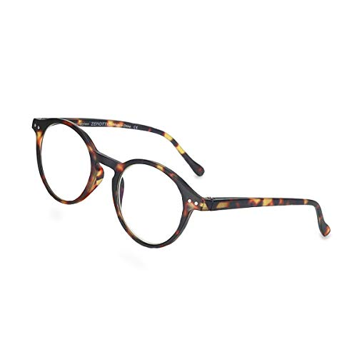ZENOTTIC Gafas Lectura Bloqueo Luz Azul Lentes Antirreflejos