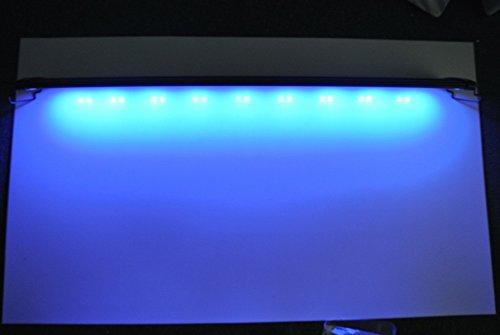 aquarien eco aquarium beleuchtung fisch tank aufsetzleuchte blau wei led lampe leuchte 90 115cm. Black Bedroom Furniture Sets. Home Design Ideas
