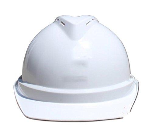 Schutzhelm-Aufbau-Flut-Verhinderung-Persönliche Schutzkappe-Site Breathable Sturzhelm-Isolierung ABS,White