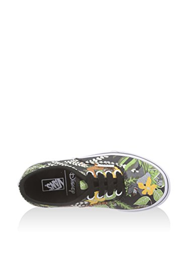 Vans T AUTHENTIC blk Sneaker, Unisex Bambino Nero (Noir/Multicolor)