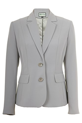 Busy-Clothing-Womens-Silver-Grey-Suit-Jacket