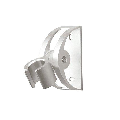 GKANGU Soporte Ducha Rotativo Shinny Aluminio DIY