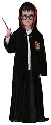 Inception pro infinite taglia xl - 7 - 8 anni - costume - travestimento - carnevale - halloween - cosplay - mago harry - completo di accessori - colore nero - bambino
