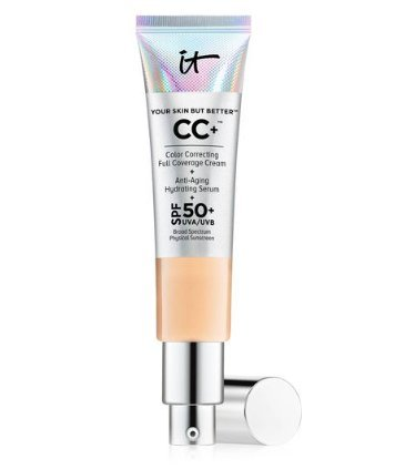 Your Skin But Better CC Cream with SPF 50+, Light 1.08 fl oz by It Cosmetics by It Cosmetics