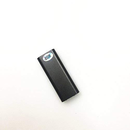 Wiiguda@USB Mini Grabador de sonido digital Grabadora de Voz Digital portátil, Grabadora de Voz y Grabadora de Audio, Grabadora de Voz USB Activacion Grabador de Voz Portátil de 8 GB con Micrófono.