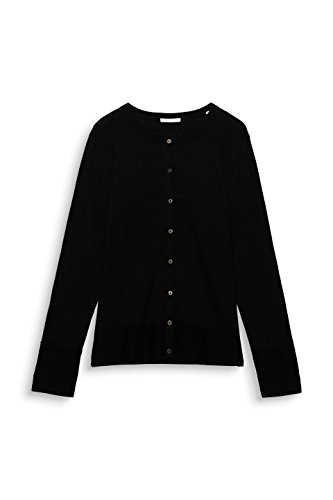 edc by Esprit, Cardigan Donna Nero (Black 001)