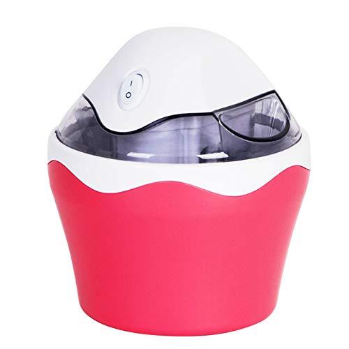 Mini-Eismaschine für den Haushalt, automatische Eismaschine, für Kinder, 500 ml Modern Large Strawberrypowder