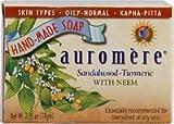 Sandal Turmeric Soap Auromere Ayurvedic ...