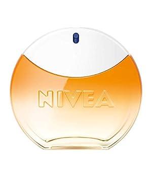 NIVEA SUN Eau de Toilette (1 x 30 ml) au parfum original de la crème solaire NIVEA SUN, Parfum femme estival dans un flacon iconique, fragrance NIVEA SUN sensuelle qui rappelle l?été