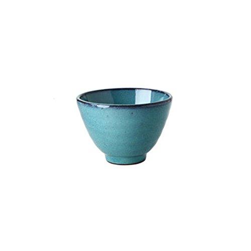 Salatschüsseln Kreatives Amerikanisches keramisches Schüssel-Set Antalya-Blaues...