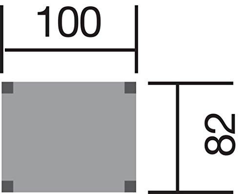 Tabaluga Drachenturm mit Pultdach, natur, Sparset inkl. Wellenwassertusche ca. 290 cm, Farbe: apfelgrün und Sandkasten, TüV