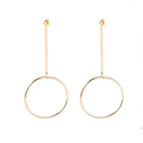 PENGWH Damen Ohrringe Anhänger Ohrringe für Frauen im europäischen und amerikanischen Stil Ohrringe Ohrhänger hypoallergene Mädchen feine Schmuck Geschenke,Gold,A -