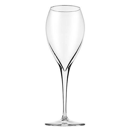 Pasabahce 440091 - Weißwein Rotwein Glas Kelch Monte Carlo, 32,5 cl, mit Eiche bei 0,2 L, Spülmaschinenfest, 6 Stück