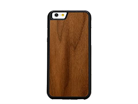 Natural Collection–Holz Geschnitzt Schutzhülle für iPhone 6–Cover handgefertigt in den USA, plastik, Walnut, Traveler