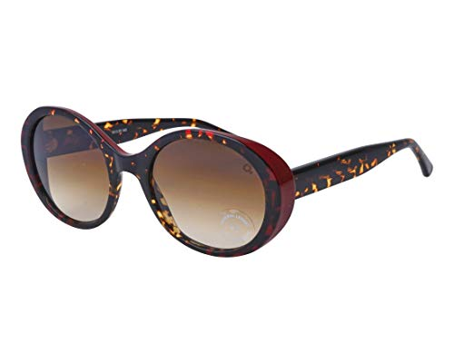 Etnia Barcelona Sonnenbrillen ELBA Havana RED/Brown Shaded Damenbrillen