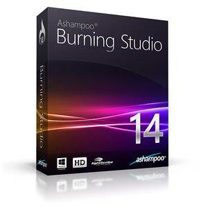 Ashampoo Burning Studio 14 Vollversion (Product Keycard ohne Datenträger)