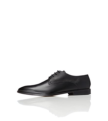 FIND Men's Atkins Derby Shoes, Black (Black), 12 UK