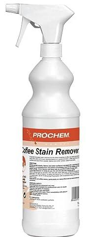Prochem Café Détachant. Un prêt à utiliser Spotter Acide pour le Retrait de thé, café, Bière, Tanin et traces d'eau de tissus et moquettes. 1Litre- Stylo anti-bactérien TCH offert.