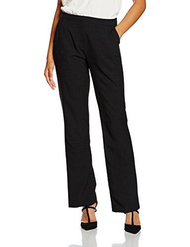 New Look Damen Hose Penny Suit Bootcut, Schwarz (Black), Gr. 38 (10 UK) (Pant Damen Suits Winter)