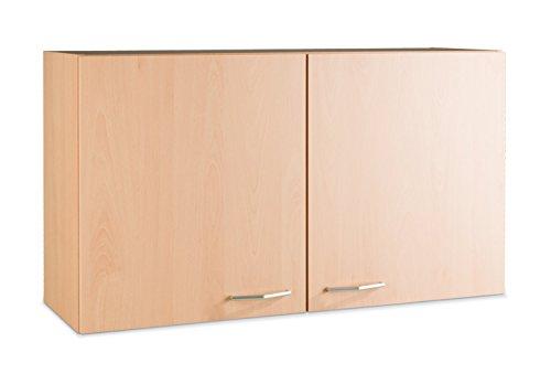 Küchenschrank Hängeschrank Oberschrank TOMMI 16 | Braun | Dekor | Buche