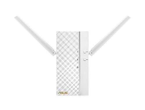 Asus RP-AC66 Dual-Band Repeater (Wi-Fi 5 AC1750, 1x Gigabit LAN, externe Antennen, ExpressWay, App Steuerung)