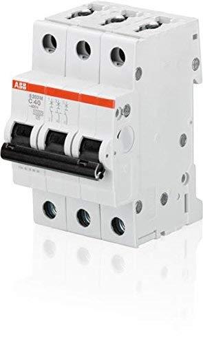 Abb-entrelec s200m-d - Interruptor magnetotermico s203m-d 2a tripolar 3 módulos