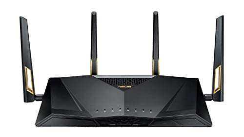Asus RT-AX88U Router Wireless Dual Band Gigabit 802.11ax, 4804Mbps, 5GHz, 802.11ax, 1148bps 2.4Ghz