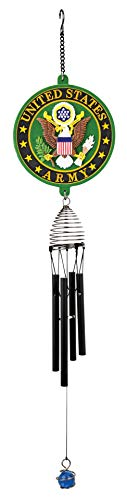 Red Carpet Studios Patriot Wind Chimes, 53 cm military Chime