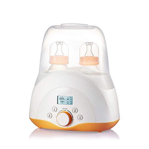 Scalda e raffredda biberon latte caldo latte caldo multiuso sterilizzatore a latte caldo termostato automatico integratore alimentare intelligente per isolamento (color : orange, size : 22 * 27cm)